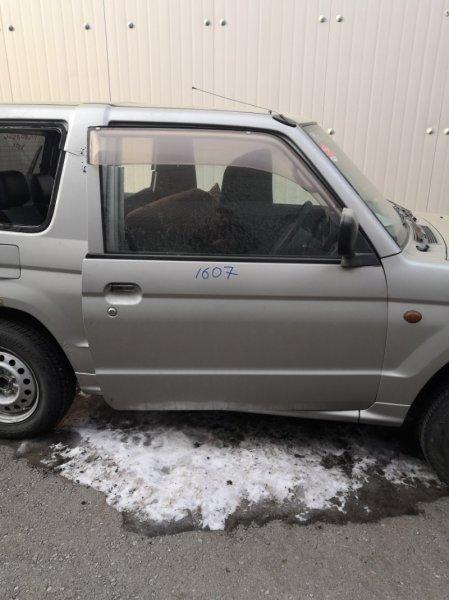 Дверь Mitsubishi Pajero Mini H58A передняя правая (б/у)