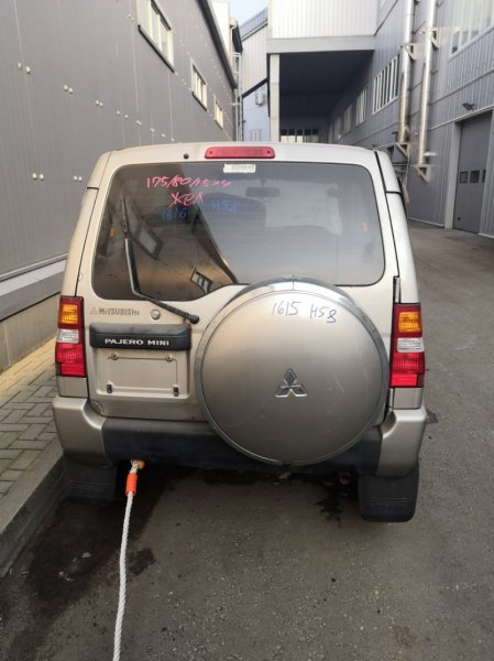 Дверь багажника Mitsubishi Pajero Mini H58A (б/у)