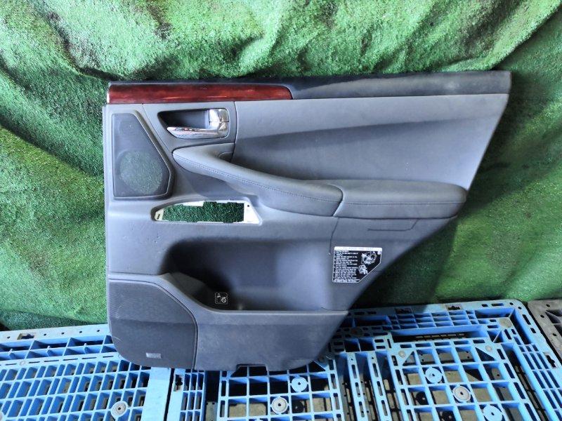 Обшивка дверей Lexus Gx470 URJ201 3UR-FE 2008 задняя правая (б/у)