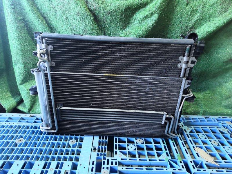 Радиатор двс Volkswagen Touareg 7LAXQA AXQ 2005/12 (б/у)