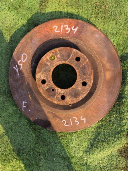 Тормозной диск Nissan Fuga PNY50 VQ35DE передний (б/у)