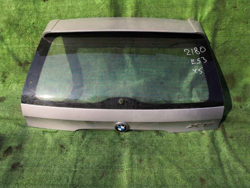 Дверь багажника Bmw X5 E53 M54 2000 задняя (б/у)