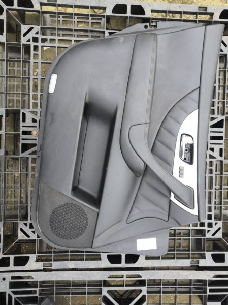 Обшивка дверей Infiniti Fx35 S51 VQ35HR 2010 передняя левая (б/у)