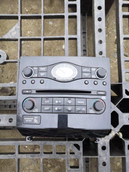 Консоль с часами Infiniti Fx35 S51 VQ35HR 2010 (б/у)