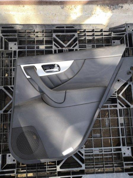 Обшивка дверей Infiniti Fx35 S51 VQ35HR 2010 задняя правая (б/у)