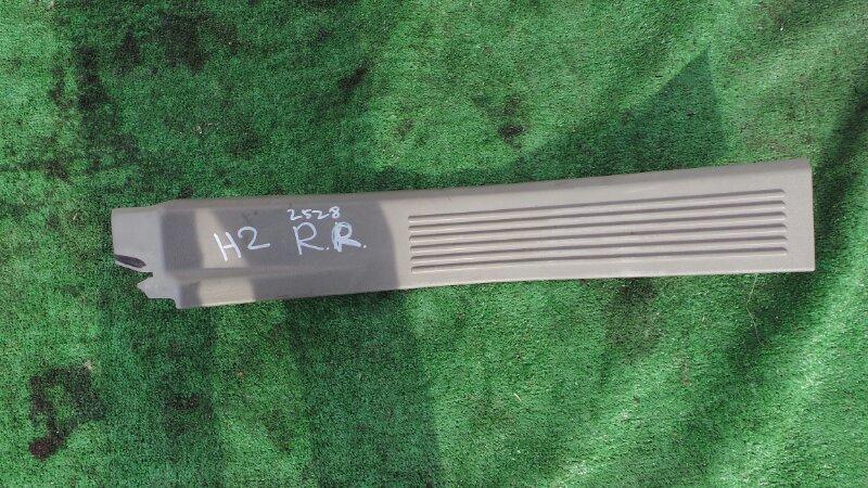 Порожек пластиковый Hummer H2 5GRGN23U24H122293 LQ4 2005 задний правый (б/у)