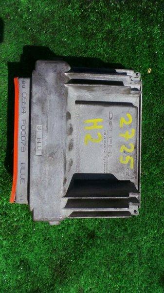 Блок управления двс Hummer H2 5GRGN23U24H122293 LQ4 2005 (б/у)