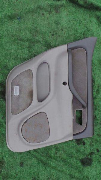 Обшивка дверей Toyota Sequoia UCK45 2UZ 2001 задняя левая (б/у)