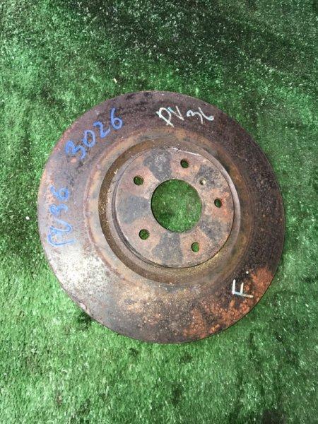 Тормозной диск Infiniti G35 V36 VQ35HR 2008 передний (б/у)