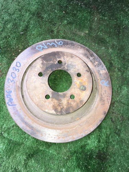 Тормозной диск Infiniti G35 V36 VQ35HR 2008 задний (б/у)