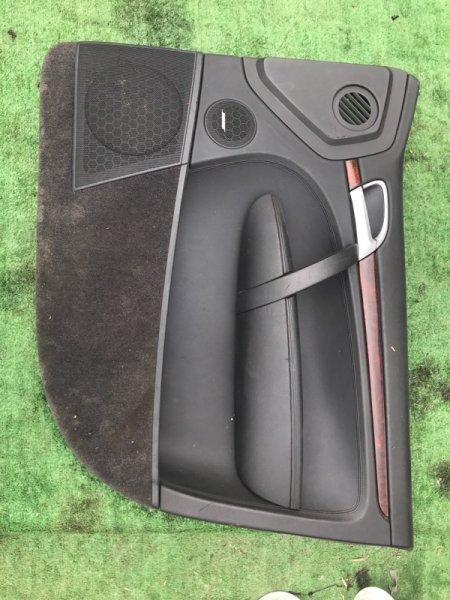 Обшивка дверей Porsche Cayenne 955 M4850 2005 передняя правая (б/у)