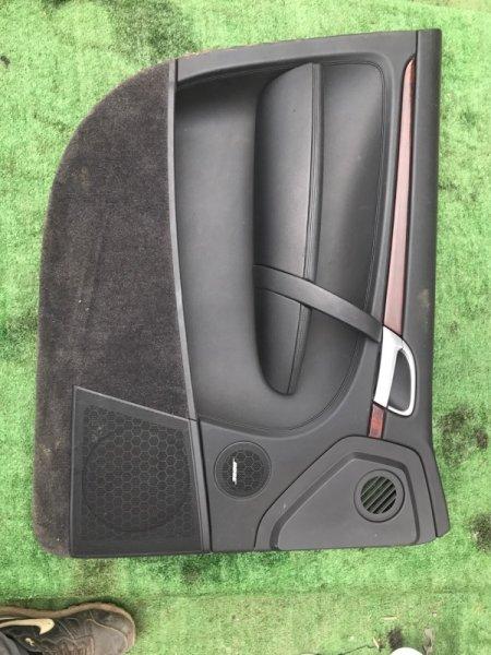 Обшивка дверей Porsche Cayenne 955 M4850 2005 передняя левая (б/у)