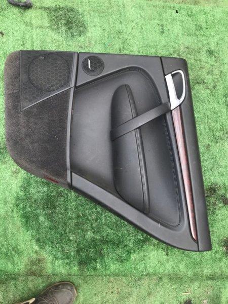 Обшивка дверей Porsche Cayenne 955 M4850 2005 задняя правая (б/у)