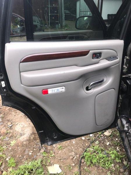 Обшивка дверей Cadillac Escalade GMT820 LQ9 2003 задняя левая (б/у)
