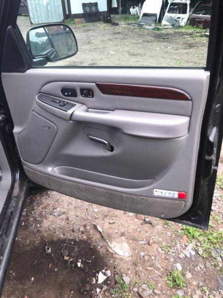 Обшивка дверей Cadillac Escalade GMT820 LQ9 2003 передняя правая (б/у)