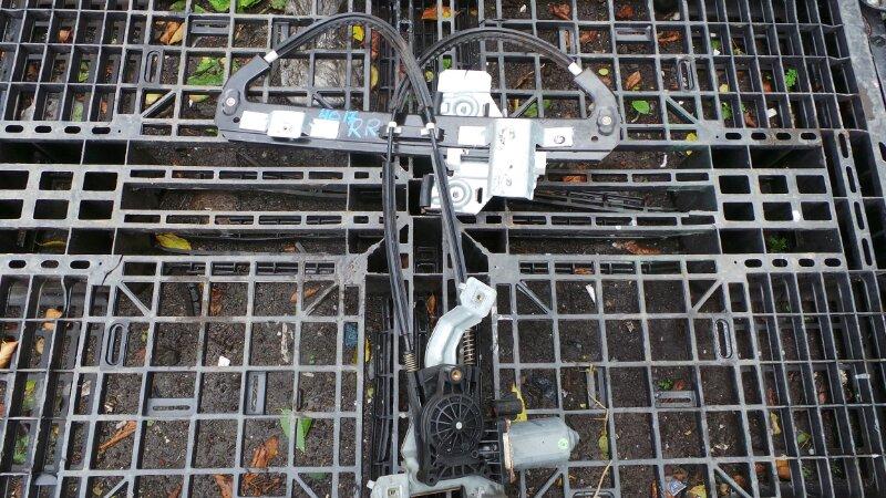 Стеклоподъемный механизм Lincoln Navigator U228 5.4L V8 SOHC 24V TRITON 2005 задний правый (б/у)