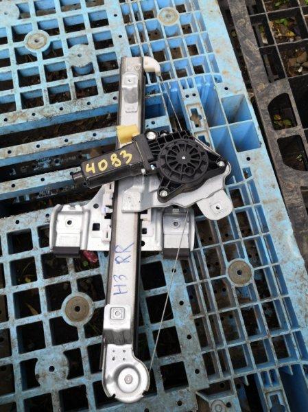 Стеклоподъемный механизм Hummer H3 L52 задний правый (б/у)