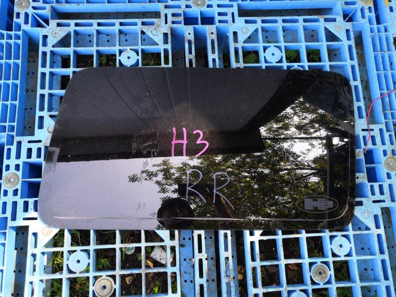 Стекло собачатника Hummer H3 L52 заднее правое (б/у)