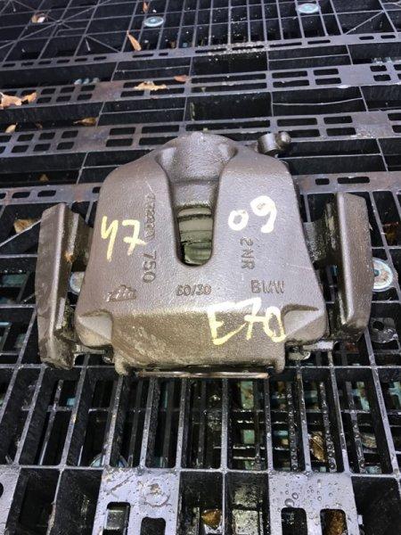 Суппорт Bmw X5 E70 N62B48B 2008 передний правый (б/у)