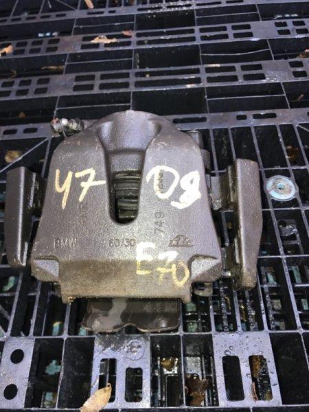 Суппорт Bmw X5 E70 N62B48B 2008 передний левый (б/у)