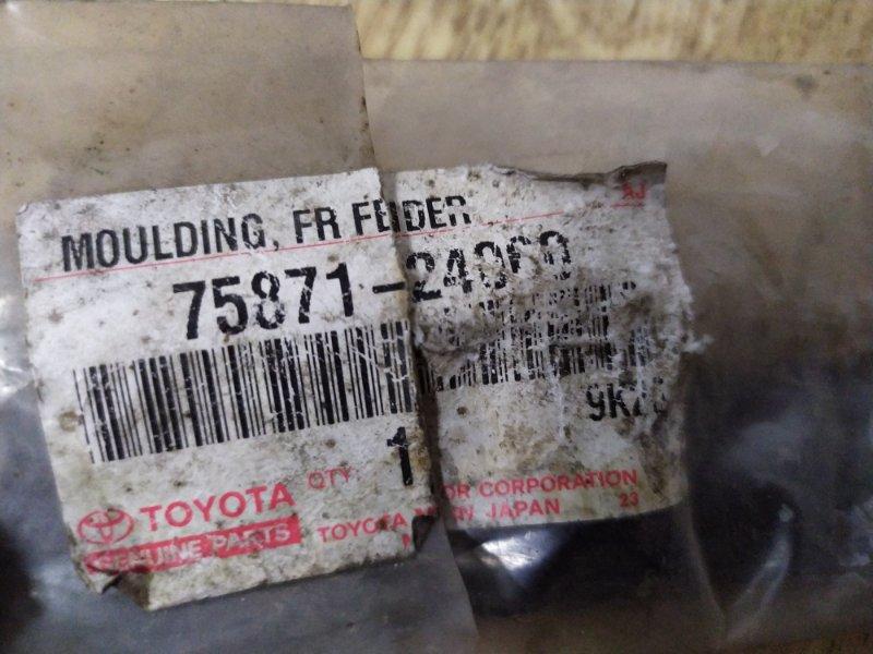 Молдинг на крыло Toyota Lexus Sc430 UZZ40 3UZFE 2001 передний правый нижний