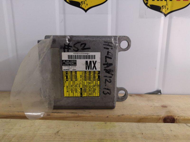 Блок управления airbag Toyota Highlander MHU48 3MZFE (б/у)