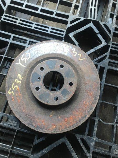 Тормозной диск Infiniti M35 Y50 VQ35HR 2010 передний (б/у)