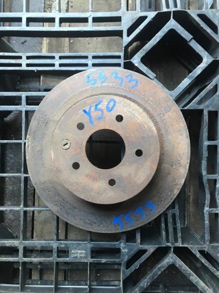 Тормозной диск Infiniti M35 Y50 VQ35HR 2010 задний (б/у)