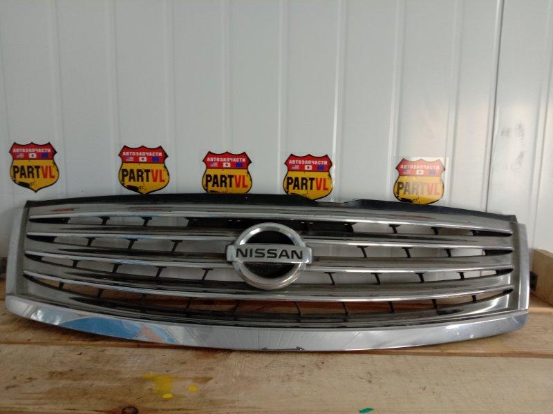 Решетка радиатора Nissan Fuga PNY50 VQ35HR 2008 (б/у)