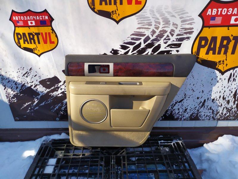 Обшивка дверей Lincoln Navigator U228 5.4L V8 SOHC 24V TRITON 2005 задняя правая (б/у)