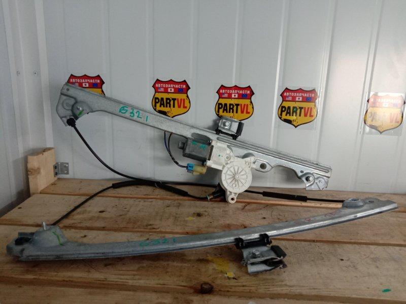 Стеклоподъемный механизм Chevrolet Tahoe GMT900 LY5 2008 передний правый (б/у)