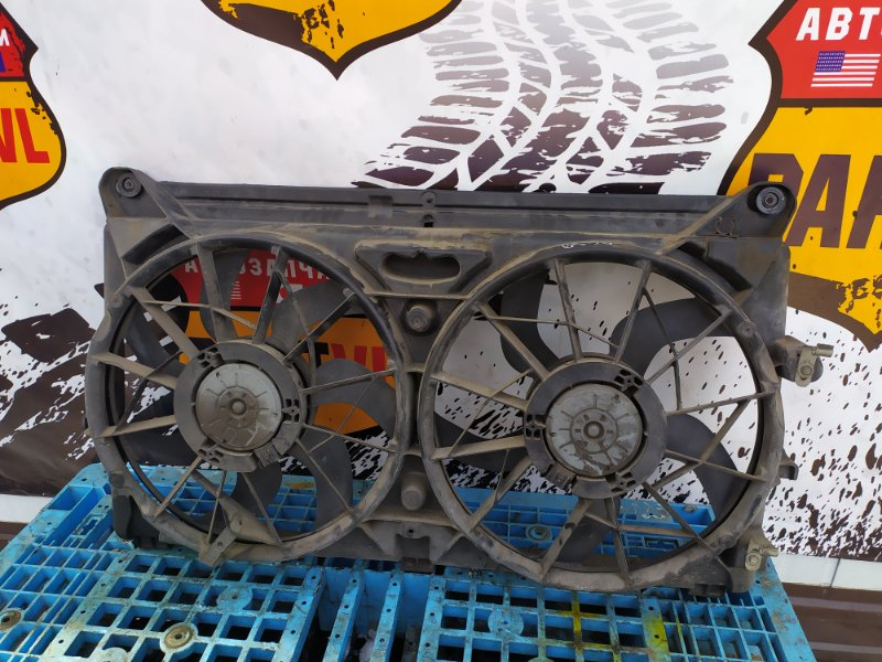 Диффузор радиатора Chevrolet Tahoe GMT900 LY5 2008 (б/у)