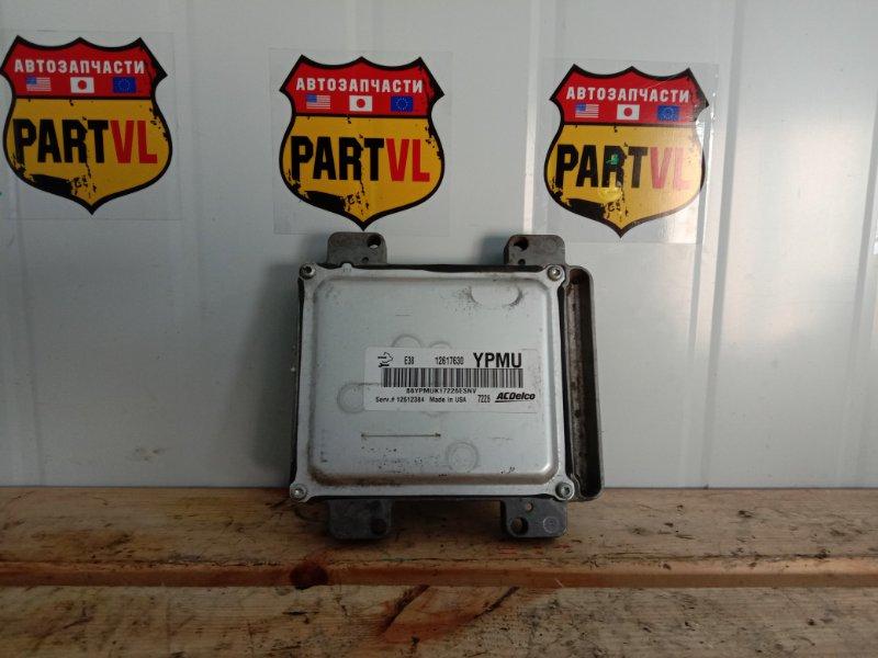 Блок управления двс Chevrolet Tahoe GMT900 LY5 2008 (б/у)