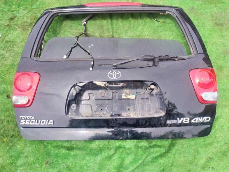 Дверь багажника Toyota Sequoia UCK45 2UZ 2006 (б/у)