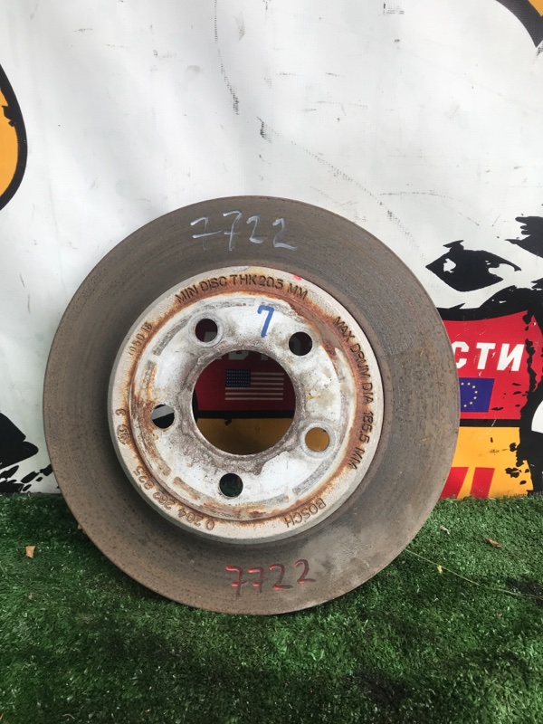 Тормозной диск Chrysler 300C LX EZD задний левый (б/у)