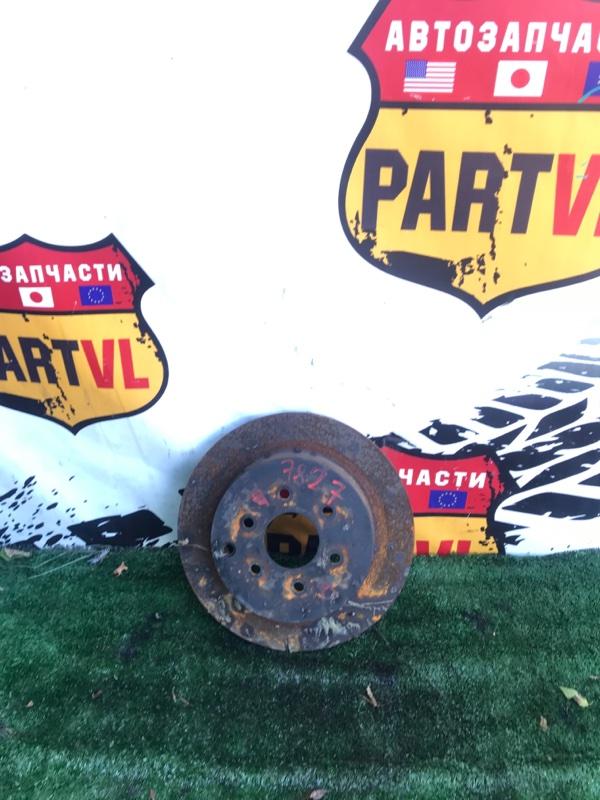 Тормозной диск Nissan Pathfinder R51 VQ40 2008 задний правый (б/у)
