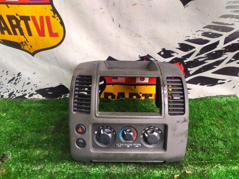 Консоль климат контроля Nissan Pathfinder R51 VQ40 2008 (б/у)