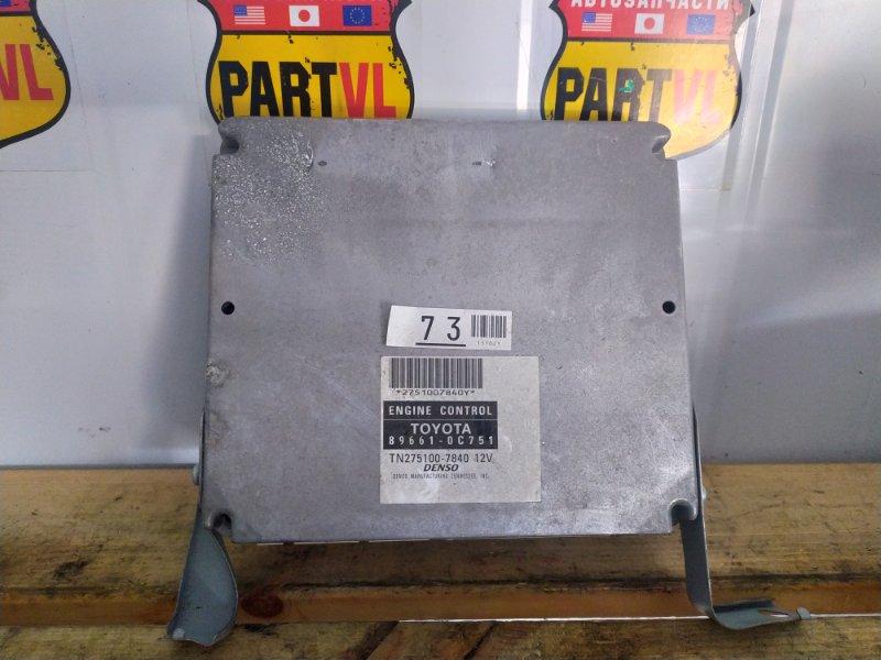 Блок управления двс Toyota Sequoia UCK45 2UZ 2006 (б/у)