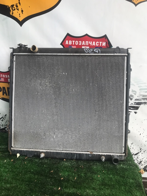 Радиатор двс Toyota Sequoia UCK45 2UZ 2006 (б/у)