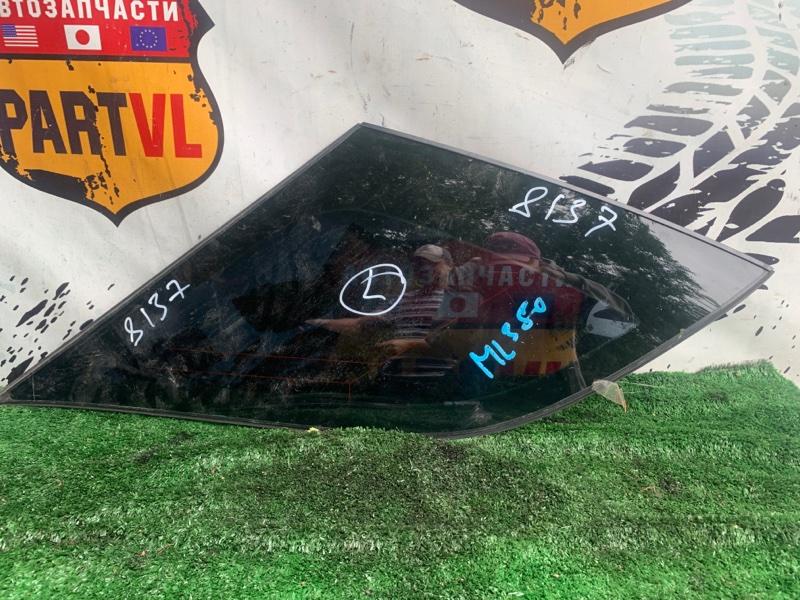Стекло собачатника Mercedes-Benz Ml-Class W164 272 2007 левое (б/у)