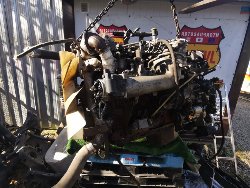 Двигатель Hino Ranger FC111A J07EJ7-6 2005 (б/у)