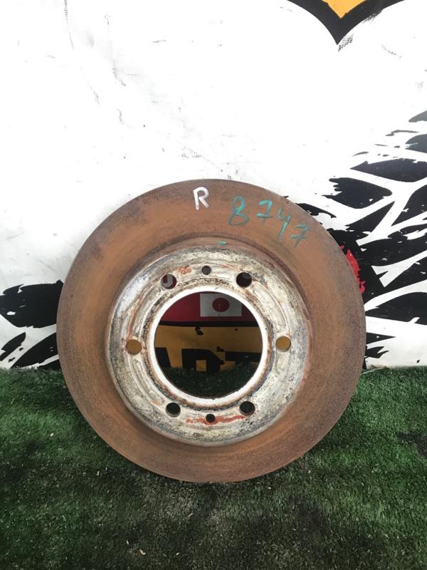 Тормозной диск Hummer H3 L52 передний правый (б/у)