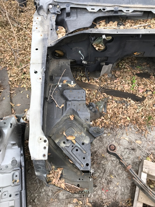 Лонжерон Nissan Pathfinder R51 VQ40 2008 передний правый (б/у)
