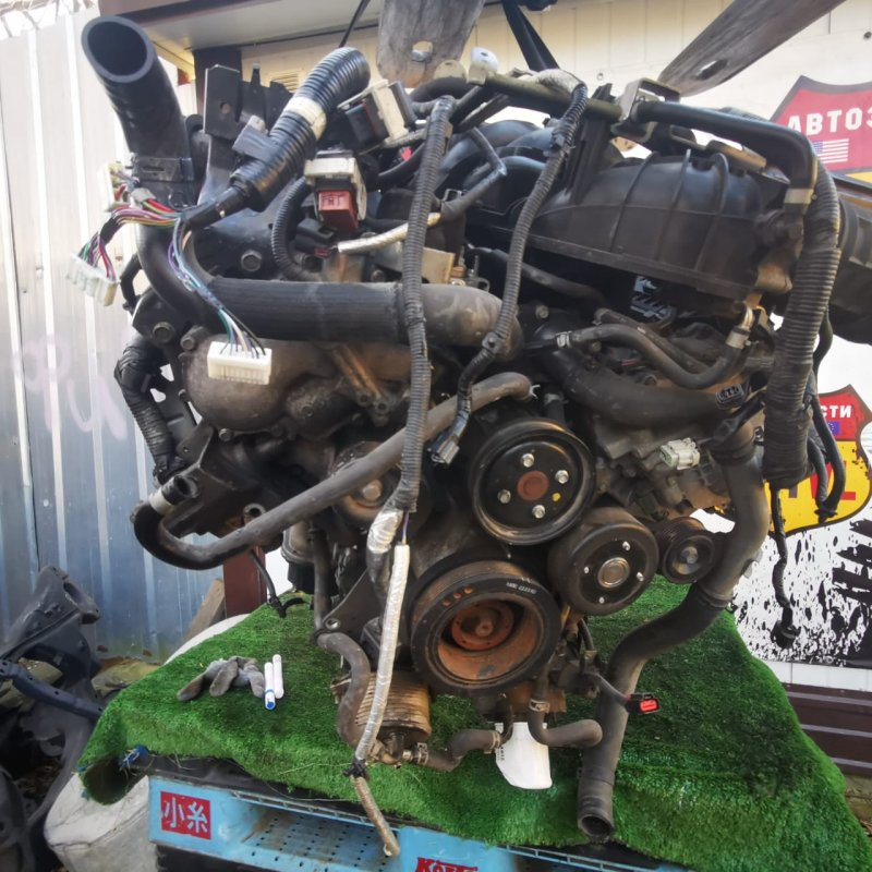 Двигатель Infiniti Qx56 Z62 VK56VD 2011 (б/у)