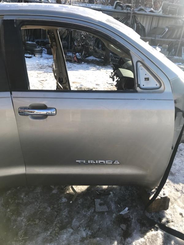 Дверь Toyota Tundra GSK50 3UR-FE 2008 передняя правая (б/у)