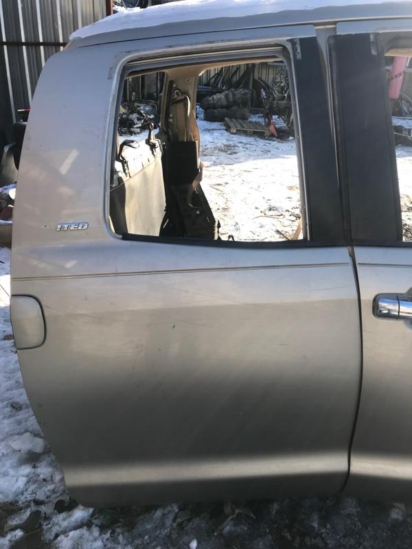 Дверь Toyota Tundra GSK50 3UR-FE 2008 задняя правая (б/у)