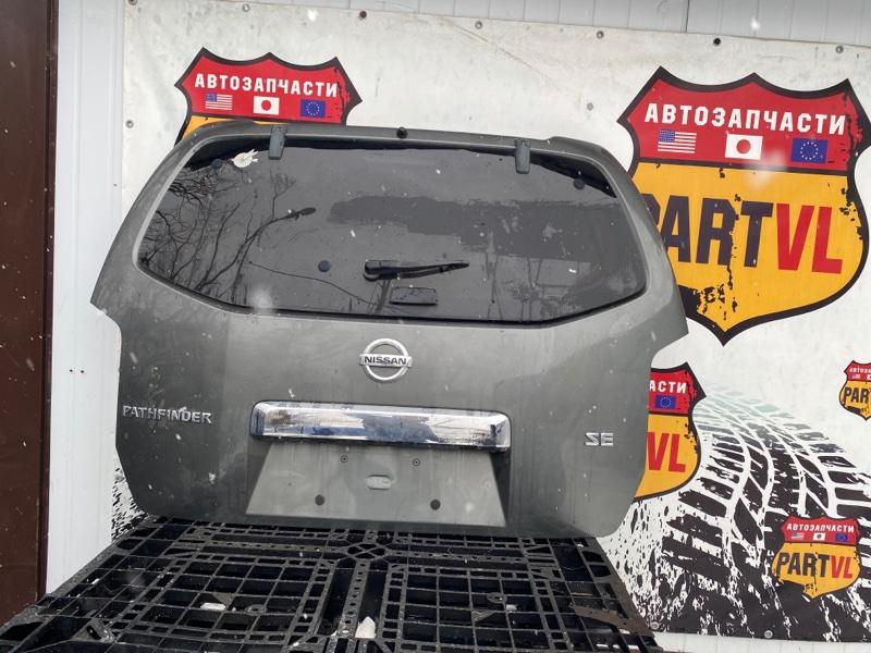 Дверь багажника Nissan Pathfinder R51 VQ40 2008 задняя (б/у)