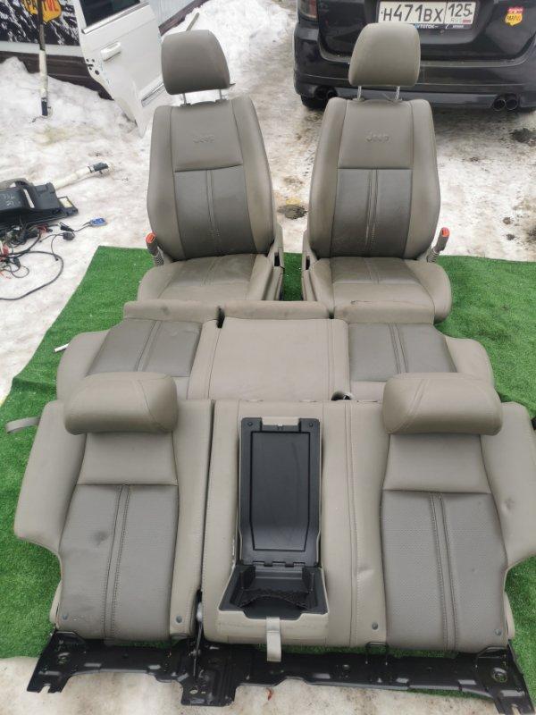 Комплект сидений Jeep Grand Cherokee WH EZB 2005 (б/у)