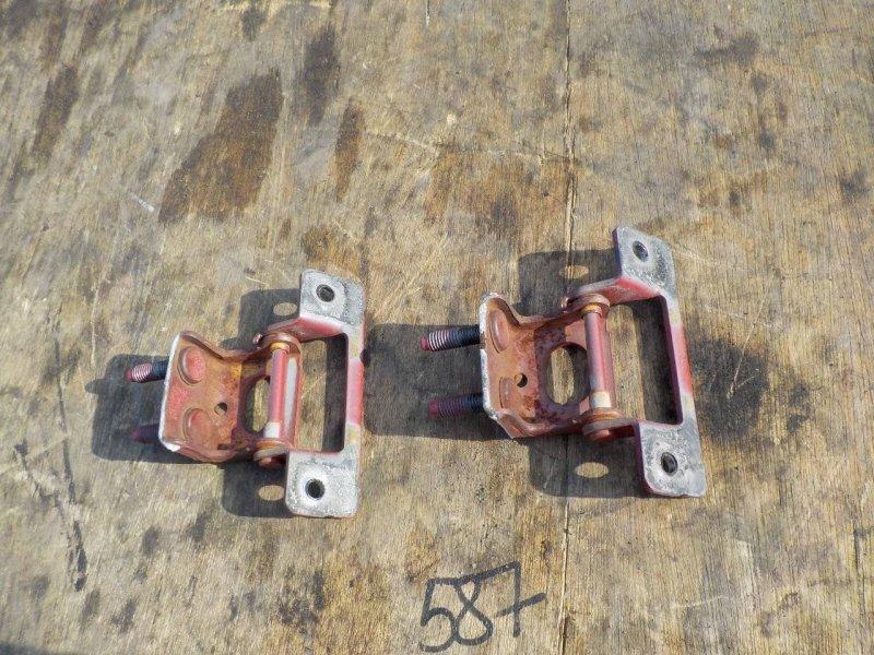 Петли двери Honda Fit GD3 L12A1 задние (б/у)