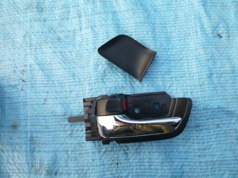 Ручка двери внутренняя Toyota Prius NHW20 1NZFXE левая (б/у)